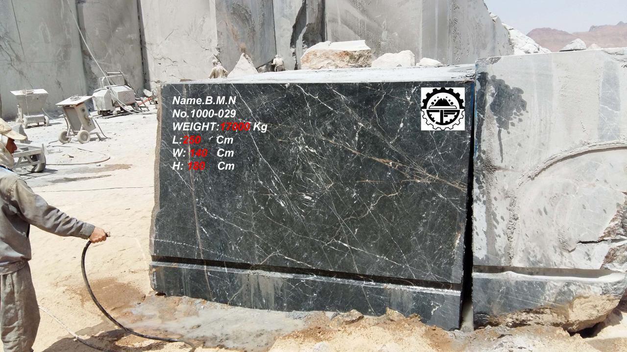 3D Black Marble
