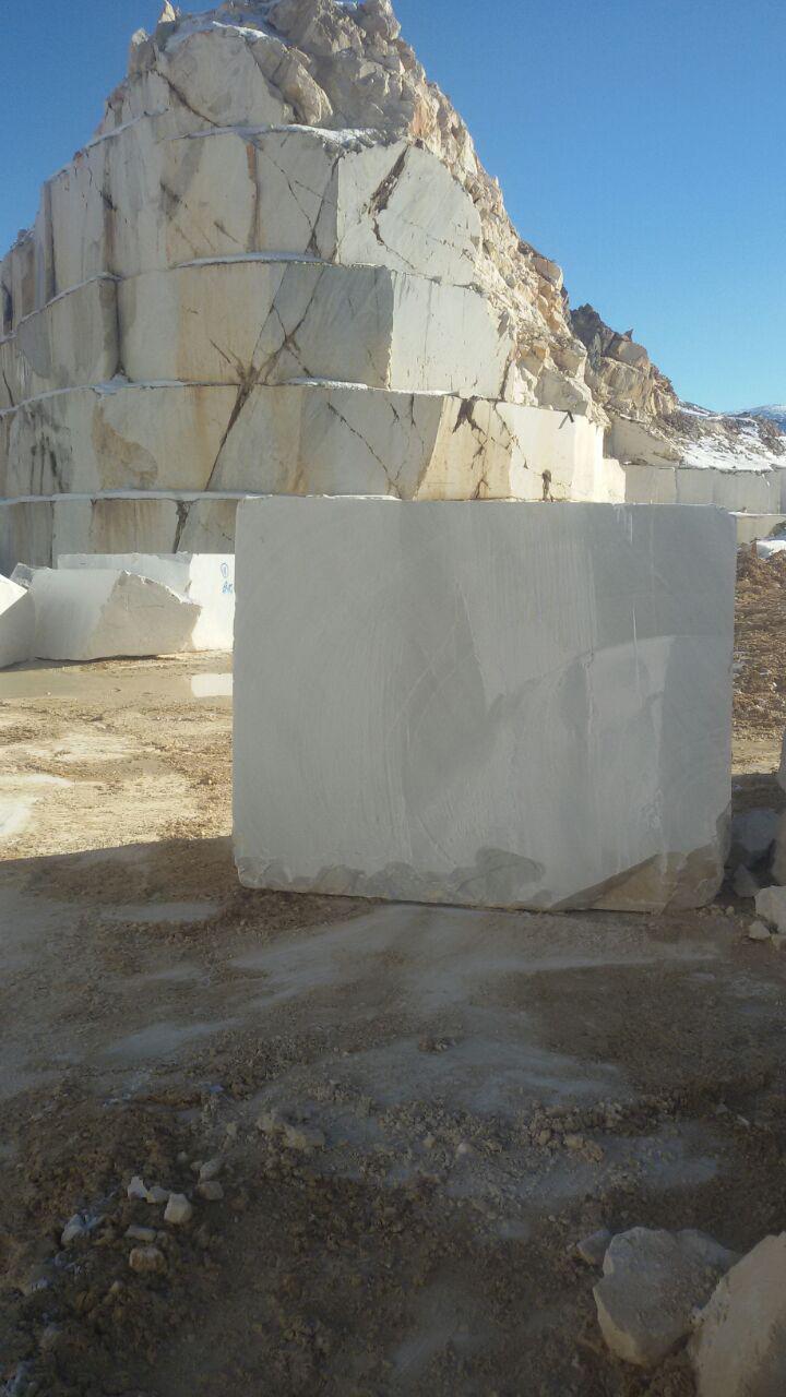 snowy marble