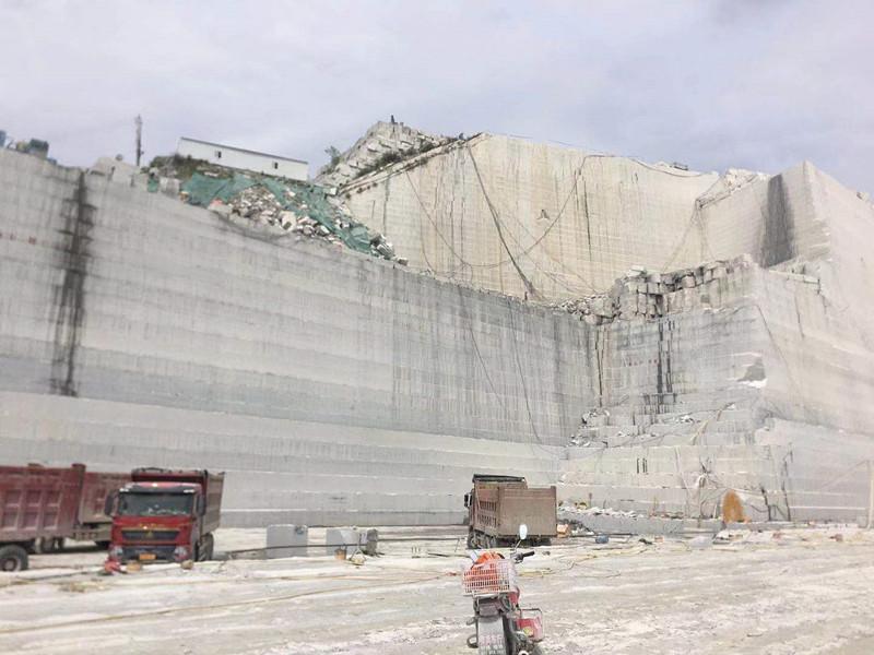 sesame white granite quarry