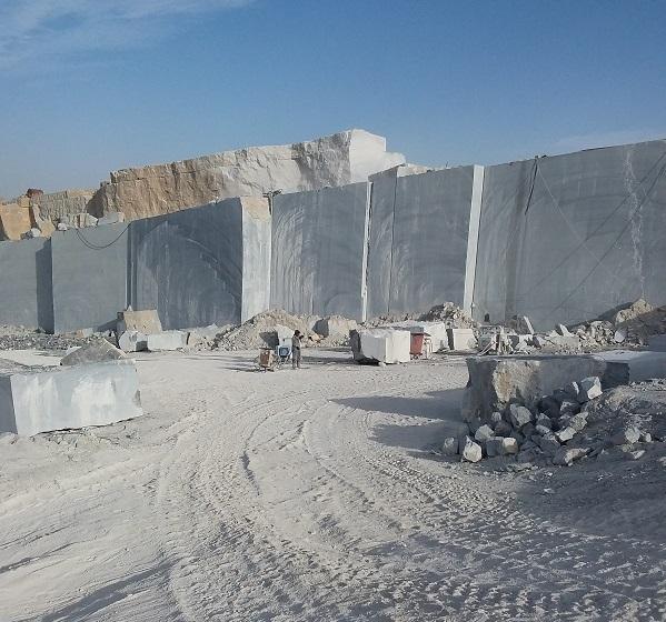 Pietra Gray Marble Quarry