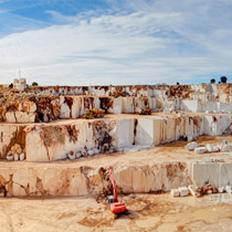 Beige Marble Quarry