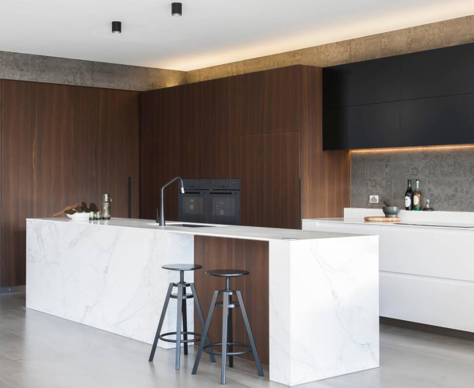Kitchen Design with Stone Countertops
