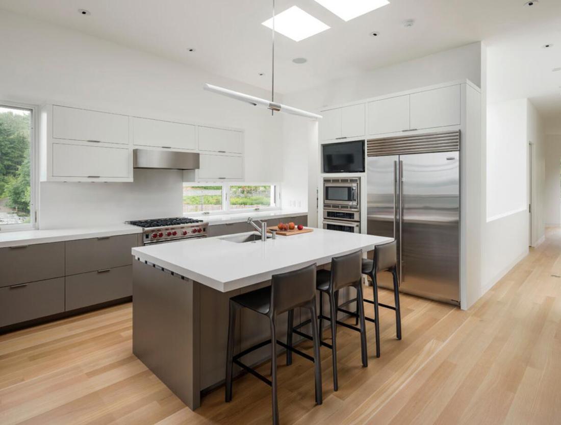 Kitchen White Quartz Countertops