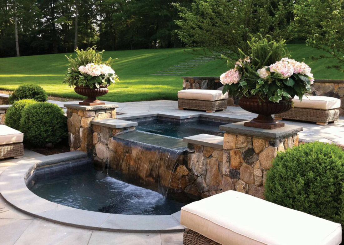 Natural Stones for Water Fountain Landscape