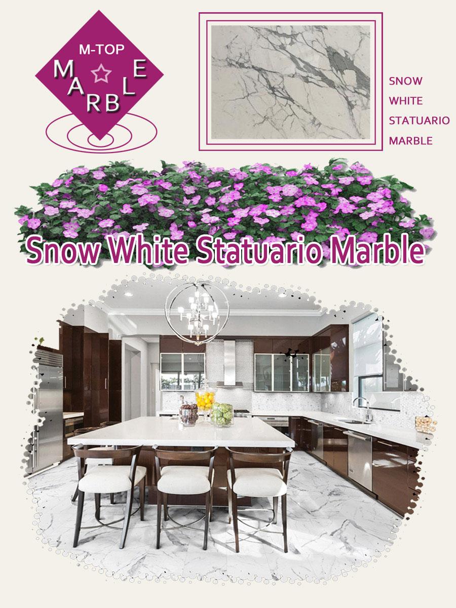 Snow White Statuario Marble