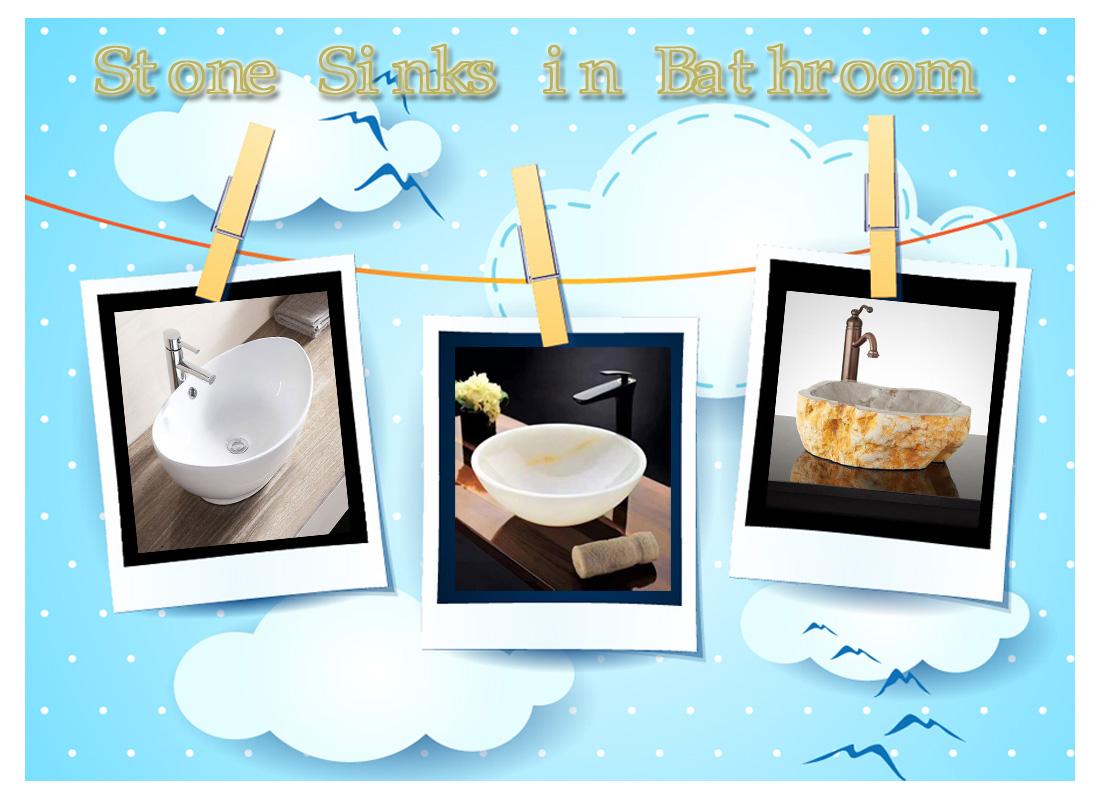 Stone Sinks in Bathroom