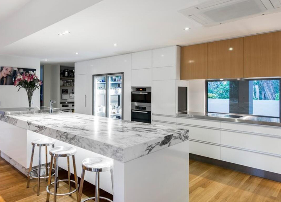 White Marble Stone Countertops