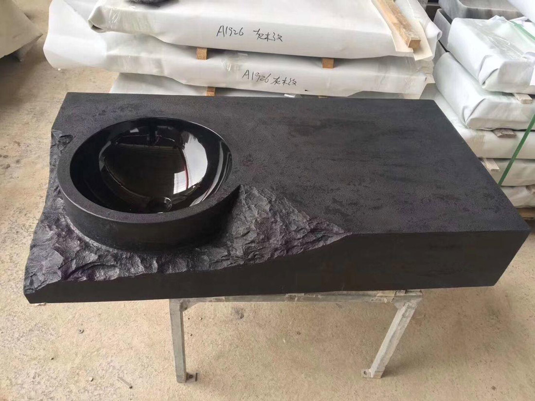 Black Marble Sink Basins