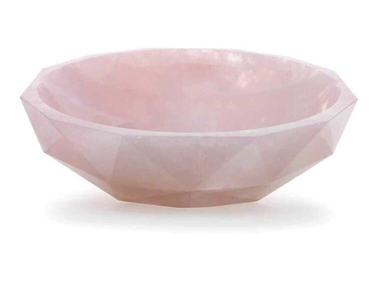Rose Quartz Wash Basin