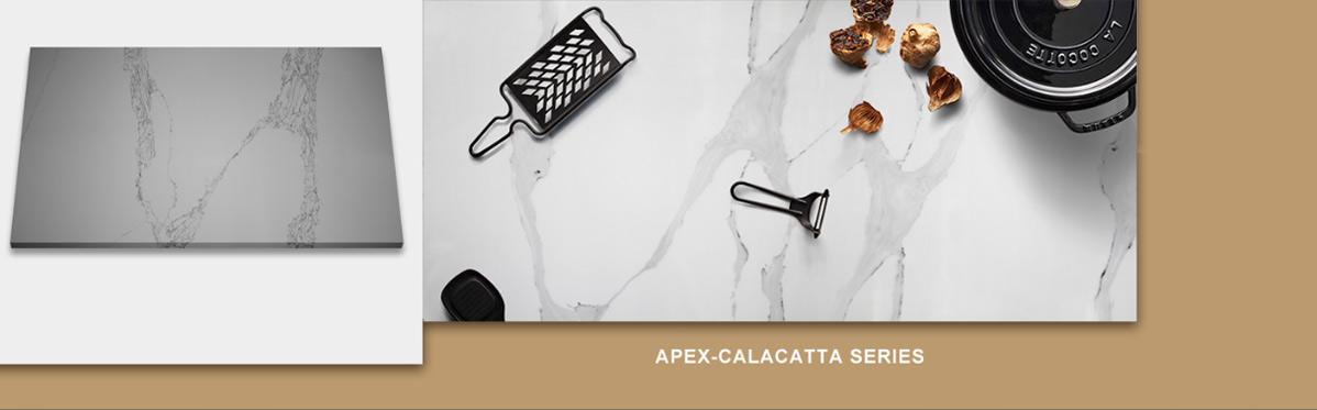 Apex Quartz Stone Calacatta Series