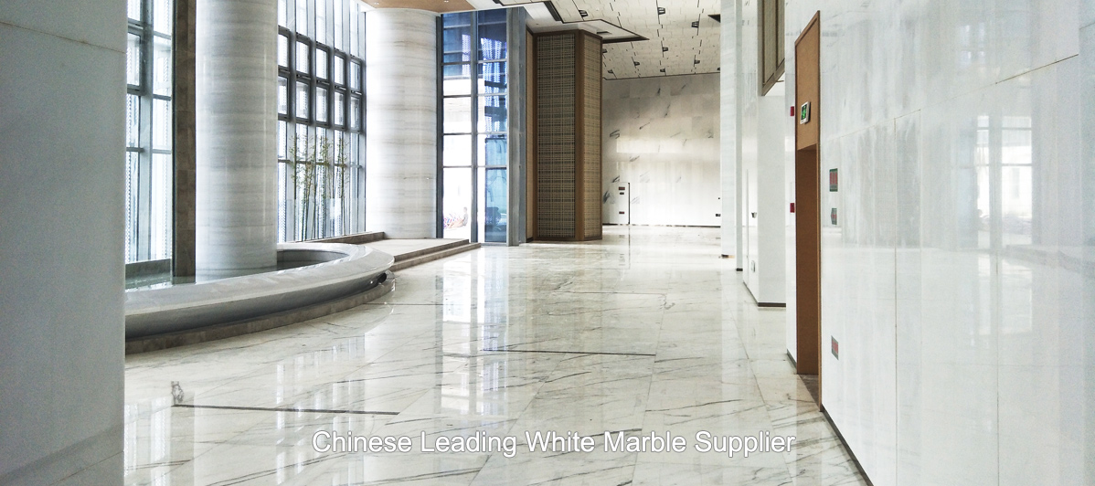 Unostone White Marble Project