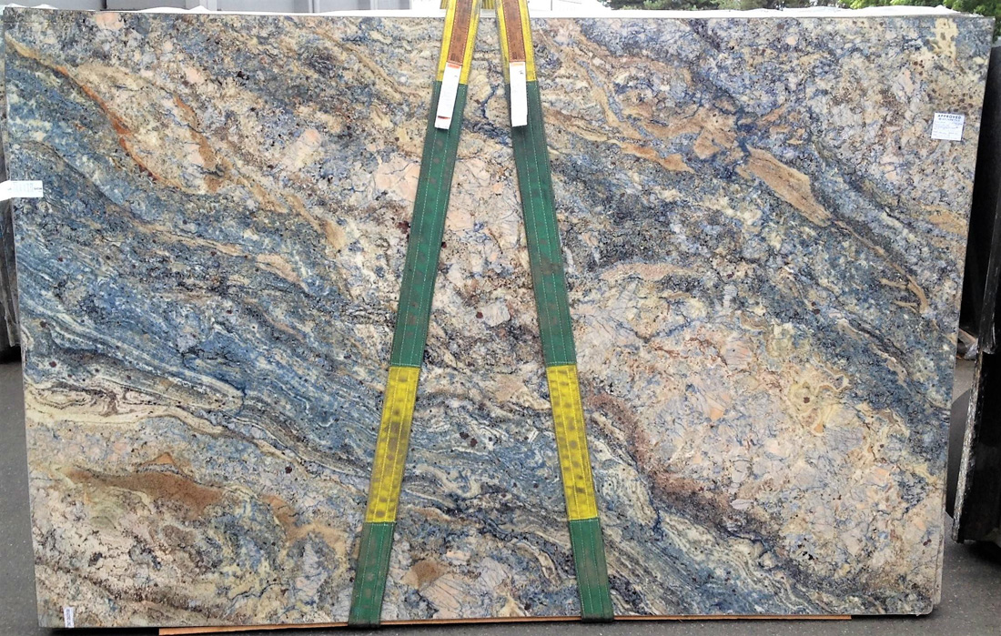 Azurite Granite Slabs