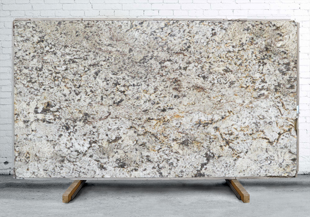 Tempest White Granite Polished Random Slabs