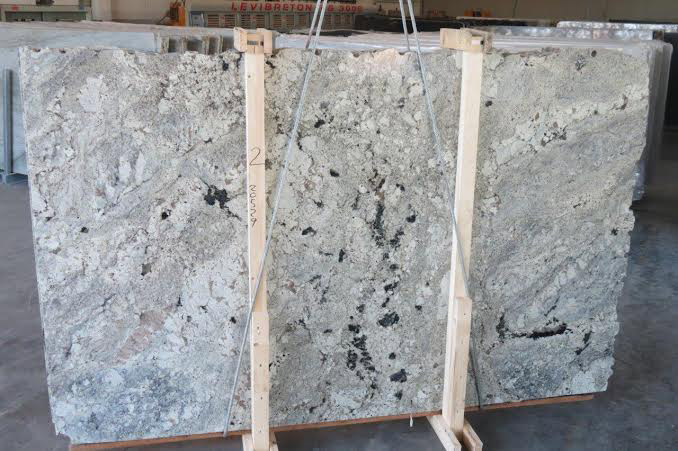 White Paradise Granite Slabs