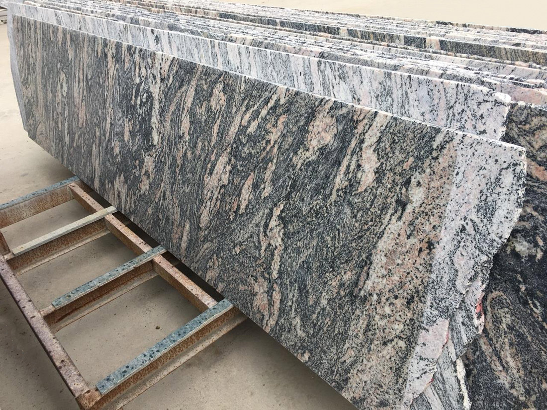 Chinese Red Dragon Granite Slabs