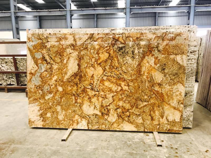 Antique Gold Granite Slabs