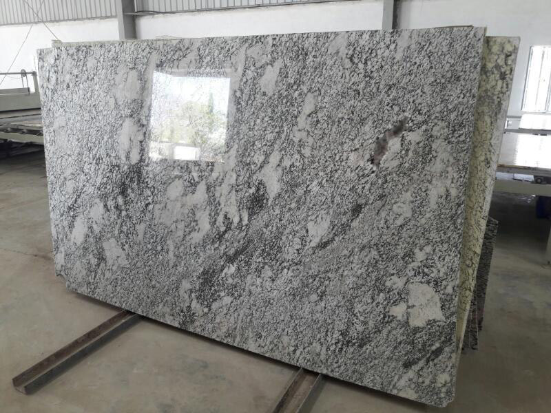 Aspen White Granite Slabs