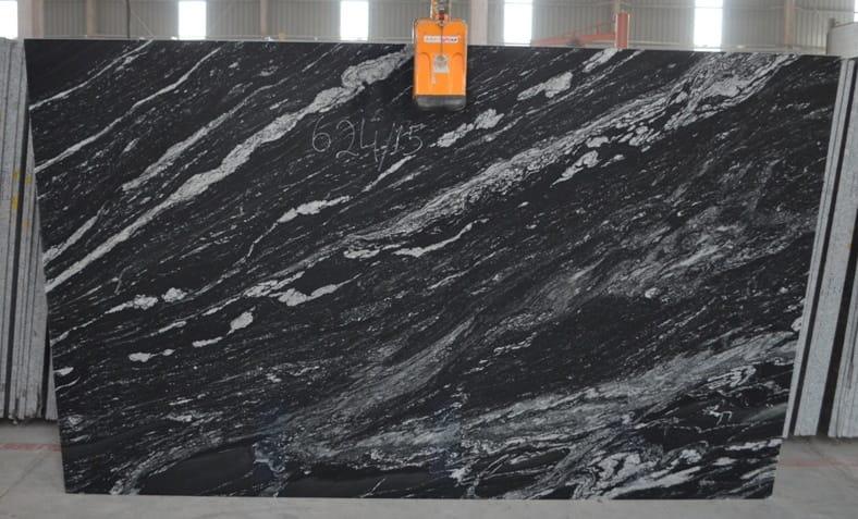 Black Cobra Granite Gangsaw and Cutter Slabs