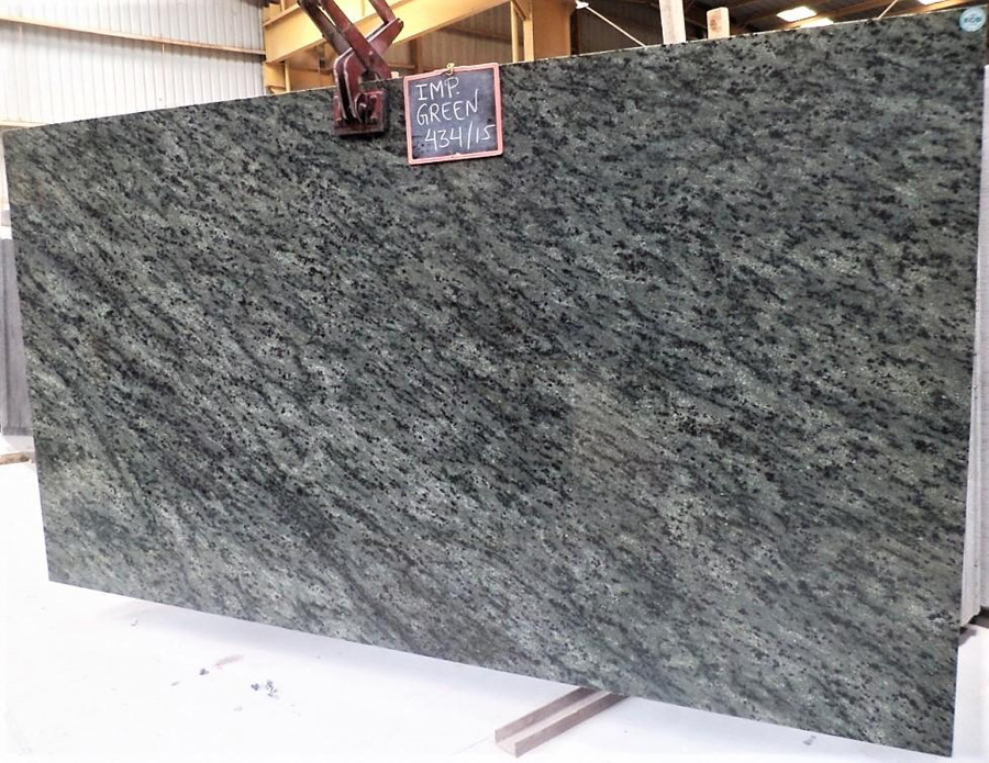 Imperial Green Granite Slab