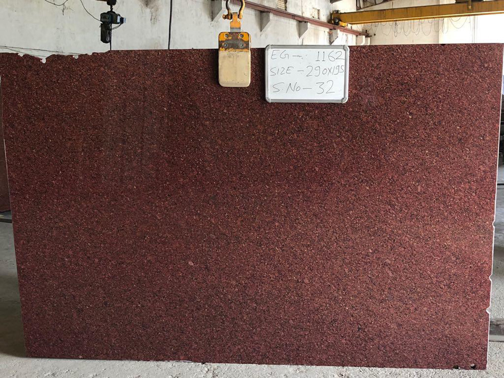Imperial Red Granite Gangsaw Slab