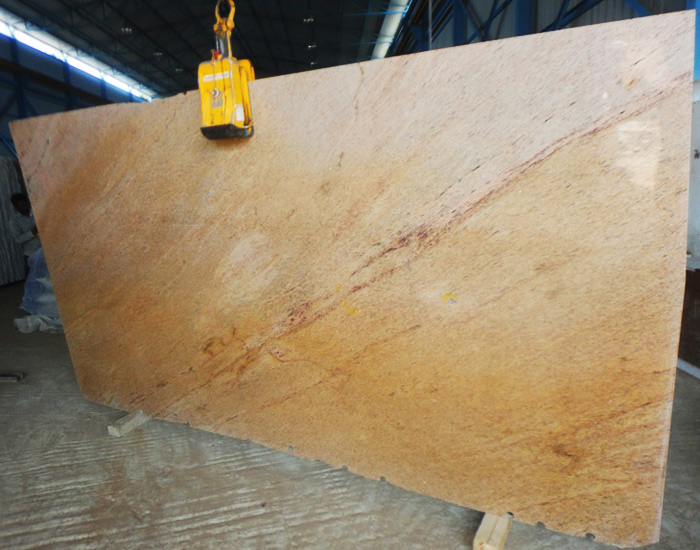 India Giblee Gold Granite Slabs