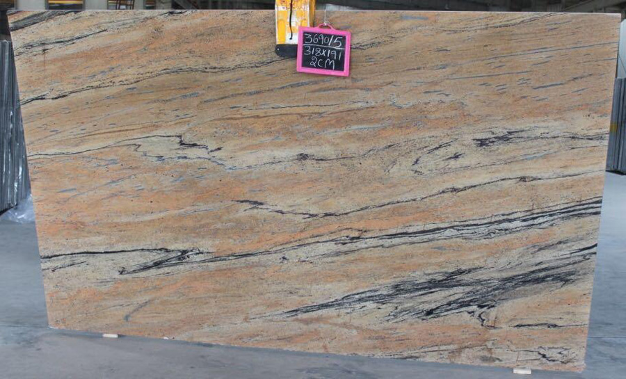 Prada Gold Granite Slab