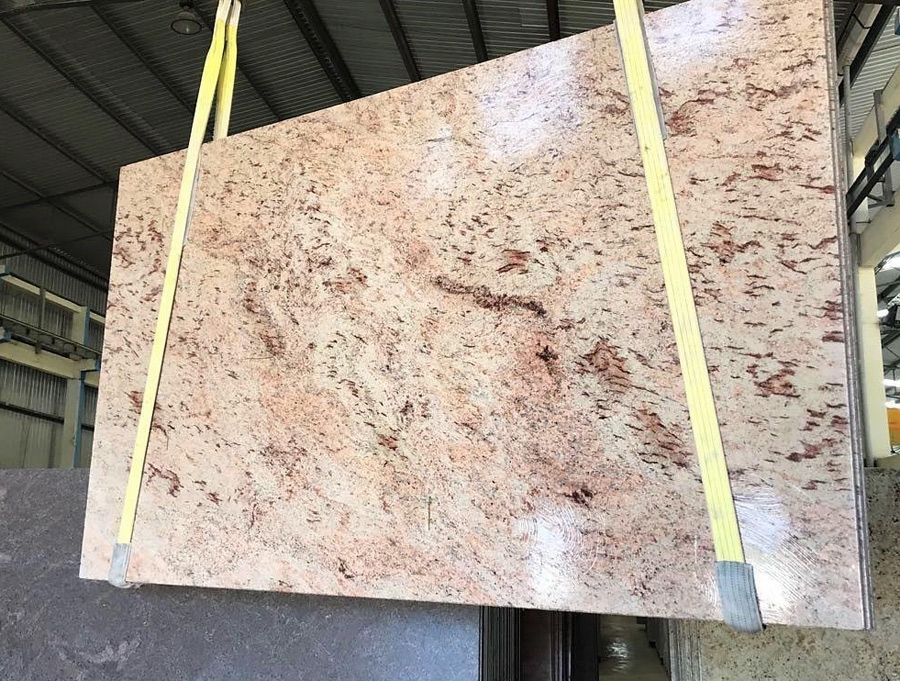 Shiva Pink Granite Slabs