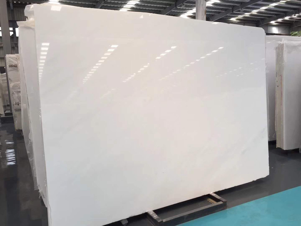 Pure White Marble Slabs Vietnam Marble Slabs