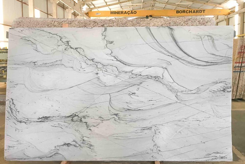 Infinity White Marble Slabs