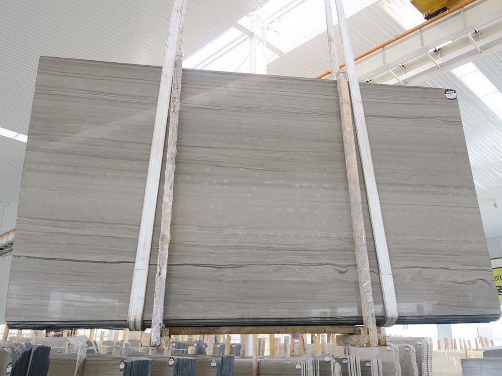 Athens Wood Marble Slabs