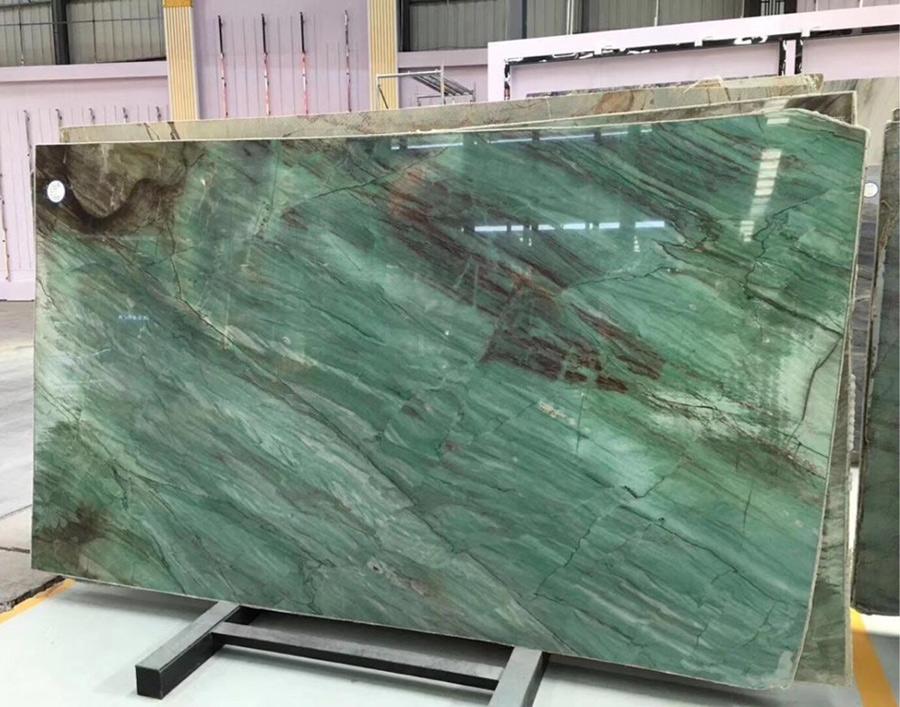 Botanic Green Marble Slabs