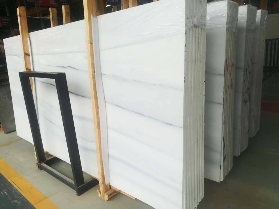 Columbia White Marble Slabs