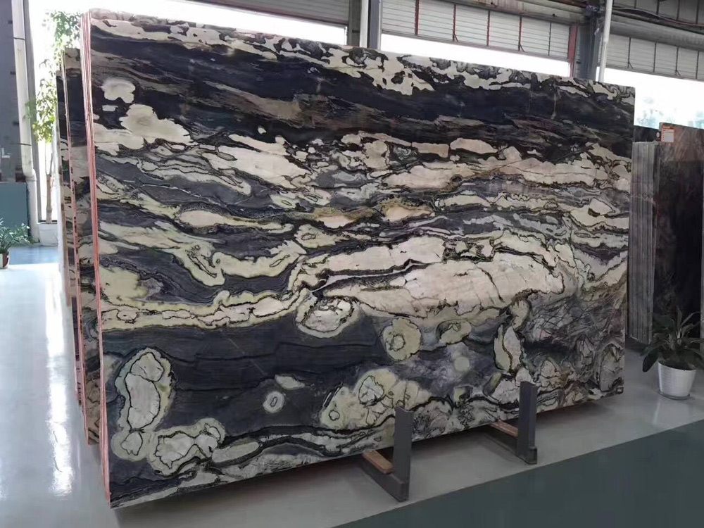 Fantisty Black Marble Slabs