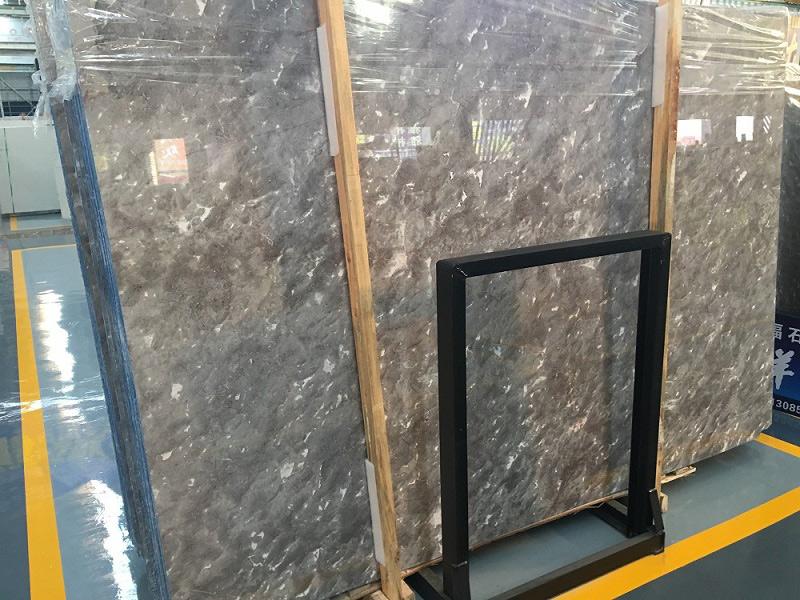 Ocean Grey Marble Slabs