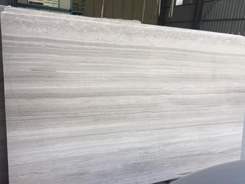 White Seppergente Marble Slabs