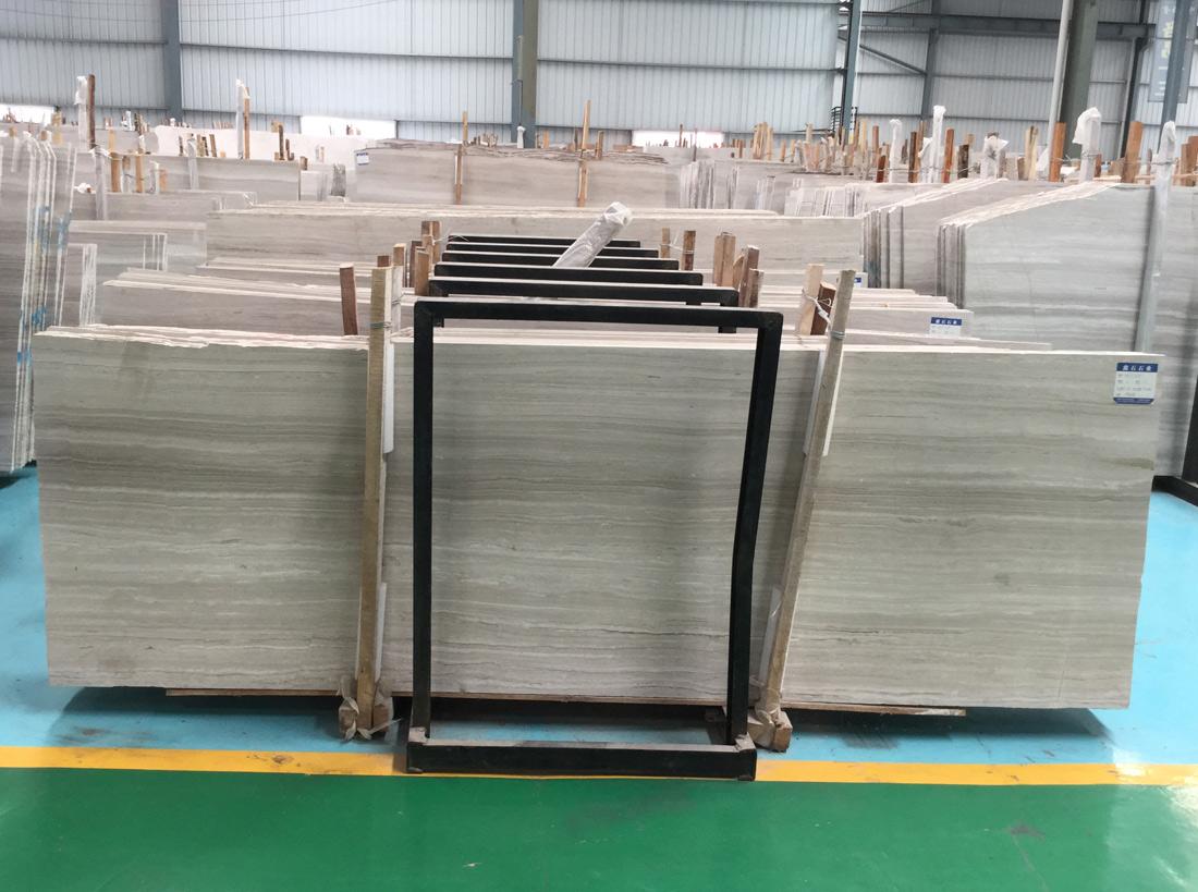 White Serpeggiante Marble Slabs
