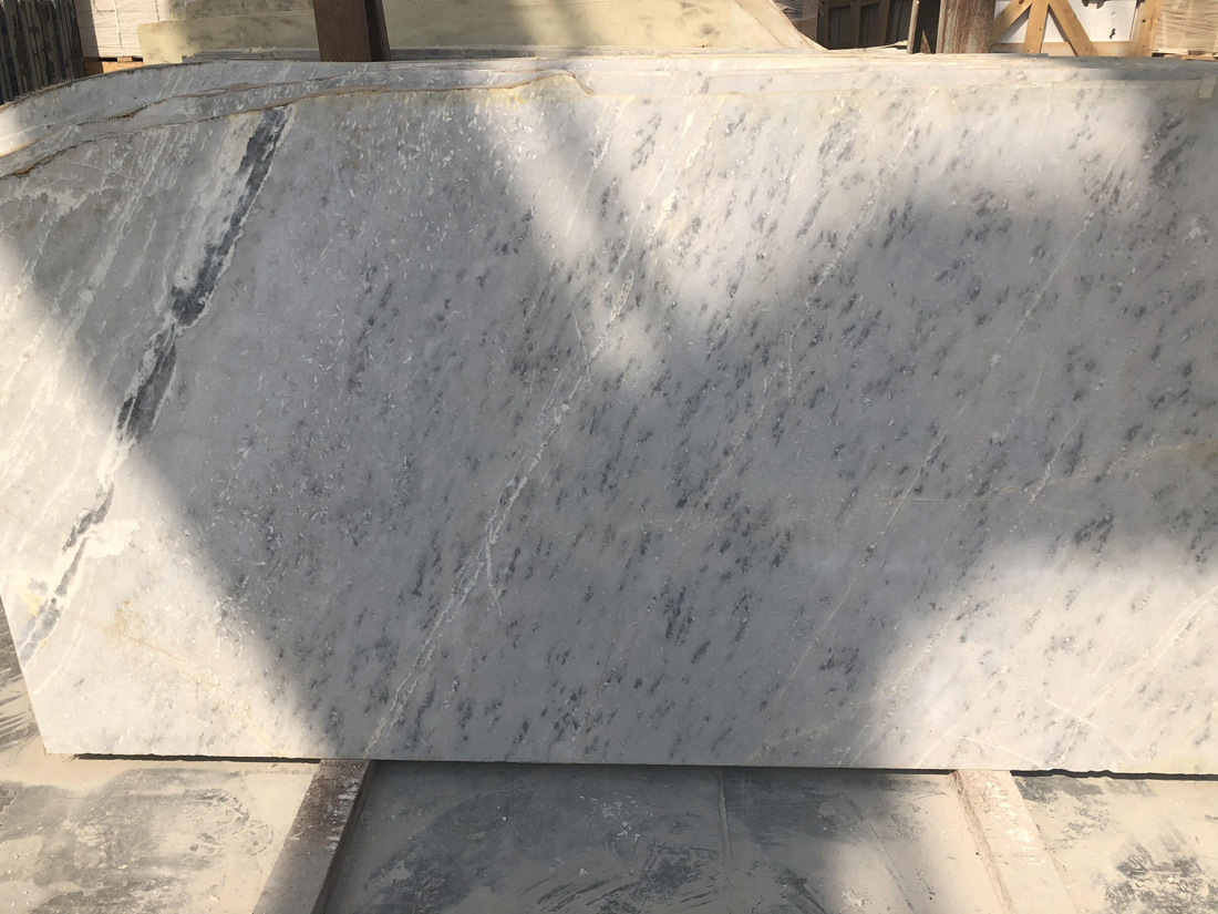 Cristal White Marble Slabs