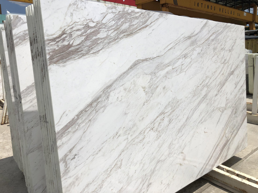 Greek Volakas Marble Slabs 2cm Polished Slabs