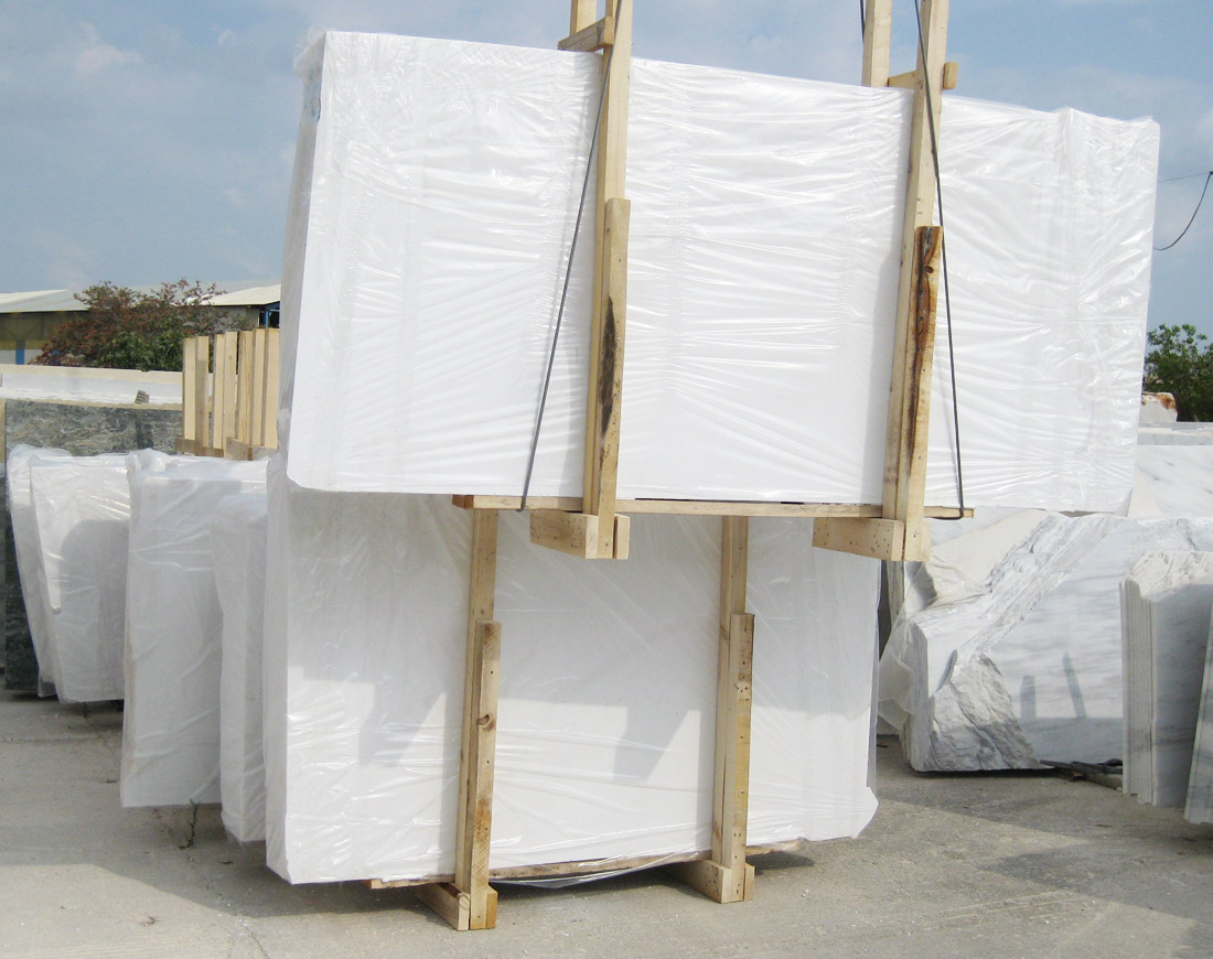 Thassos Pure White Marble Slabs
