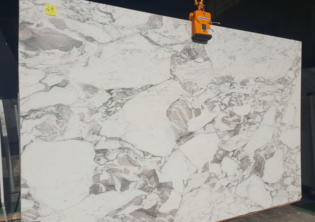 Arabescato Marble 315x200x2cm Polished Slabs