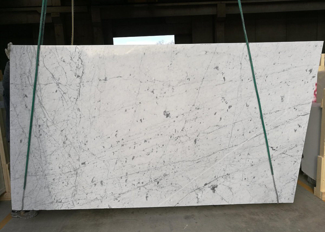 Bianco Carrara Venatino Marble Slabs