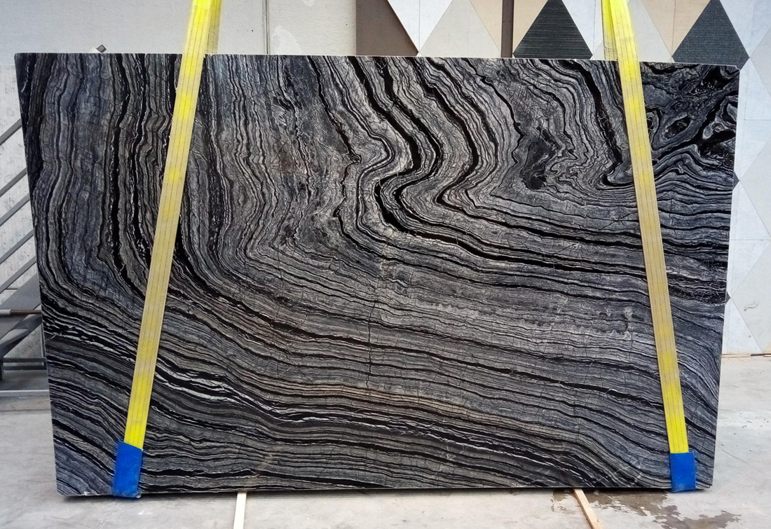 Italy Silver Wave Marble Slabs