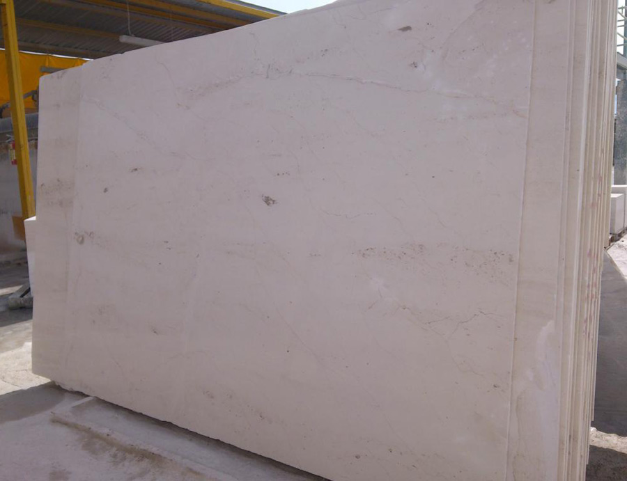 Cream Bellaggio Marble Slabs