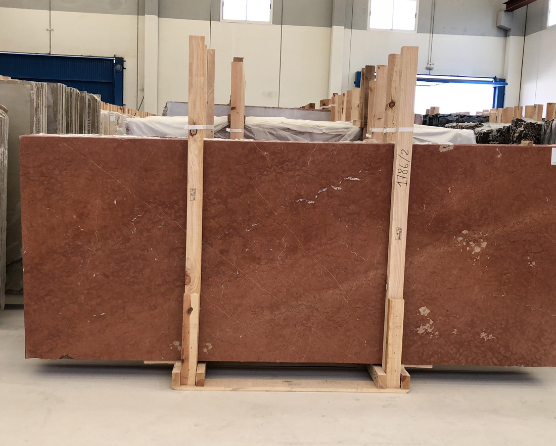 Red Alicante Marble Slabs