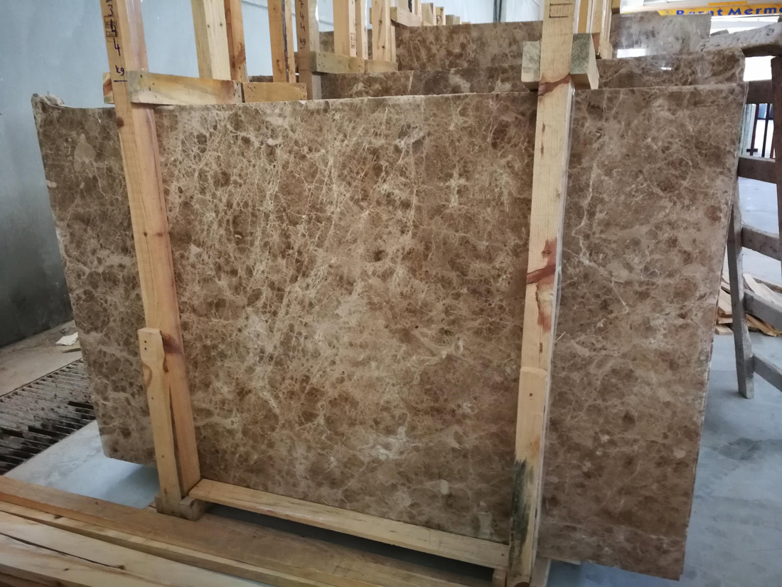 Light Emprador Marble Slabs