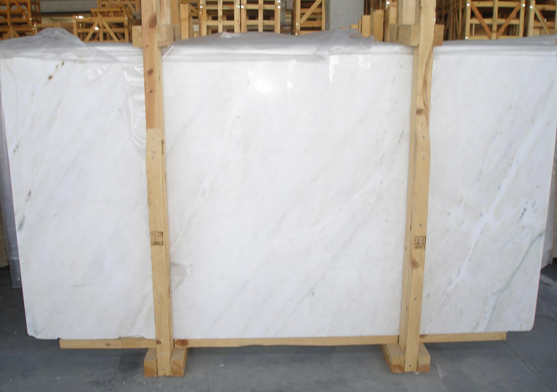 Mugla White Marble Slabs and Packings