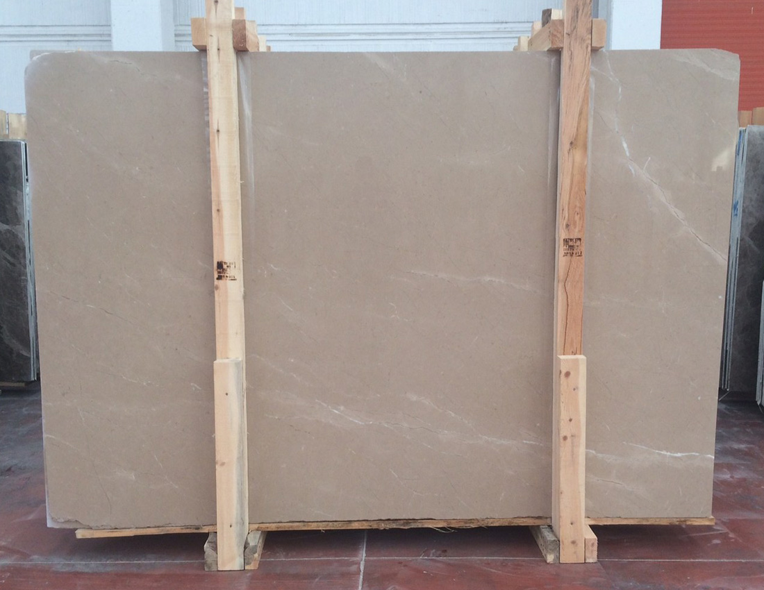 Regal Beige Marble Slabs
