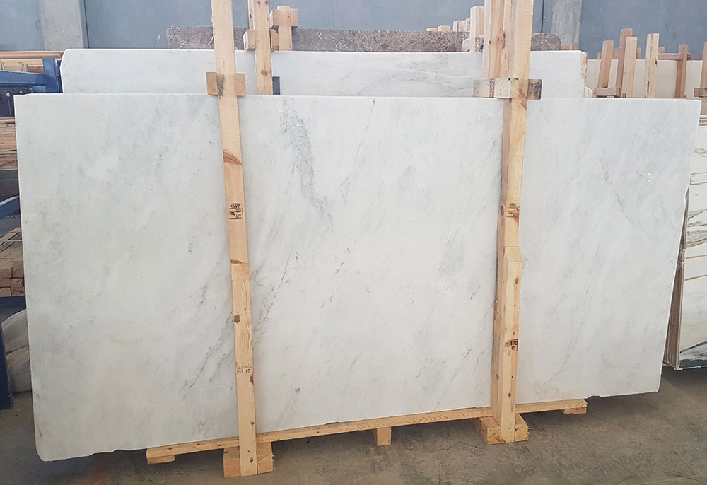 Turkey Mugla White Marble Slabs