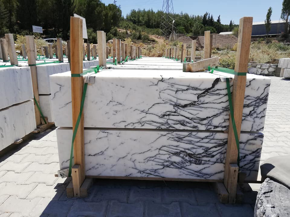 Turkish Lilac Marble Slabs