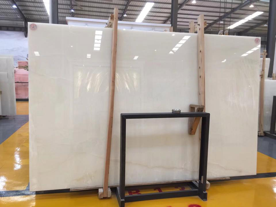 Chinese White Onyx Slabs